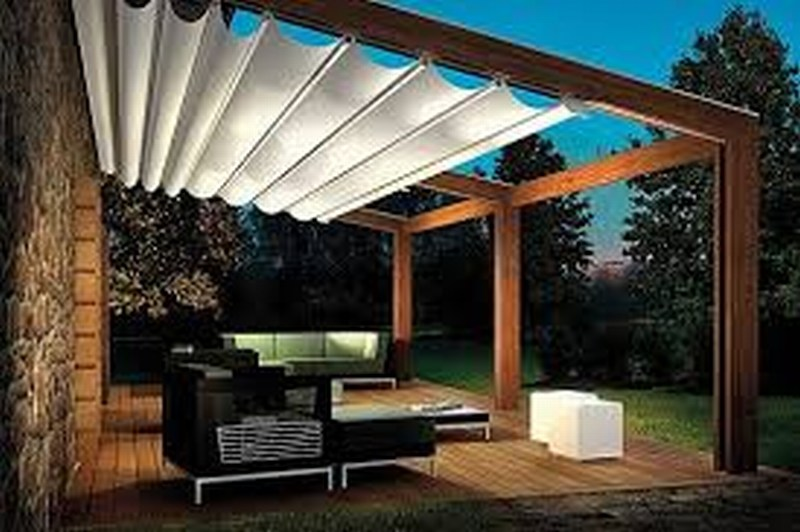 Our Patio Shades Are Custom Made Using Modern Filter Fabrics, Acrylic  Canvas, PVC Or Shade Cloth Canopies.